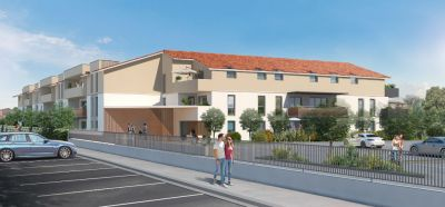 CASTELGINEST - Appartement T2 RT2012 avec jardin privatif